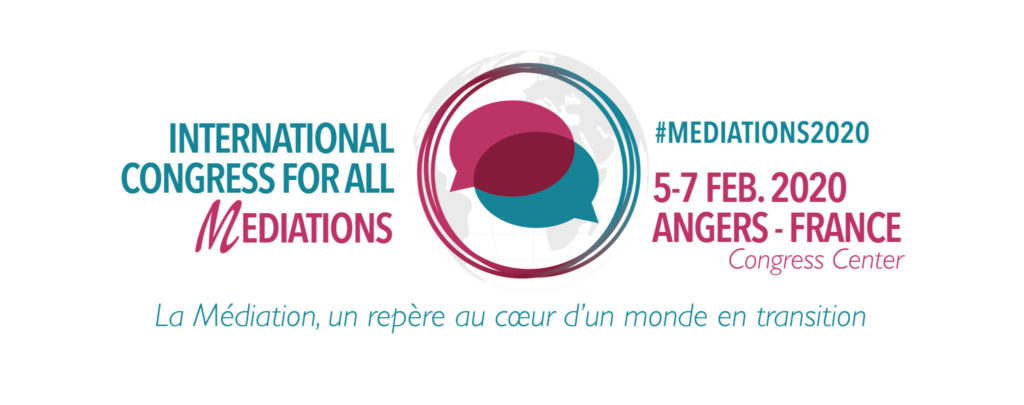 1st International Congress for All Mediations - Angers : Save the Date