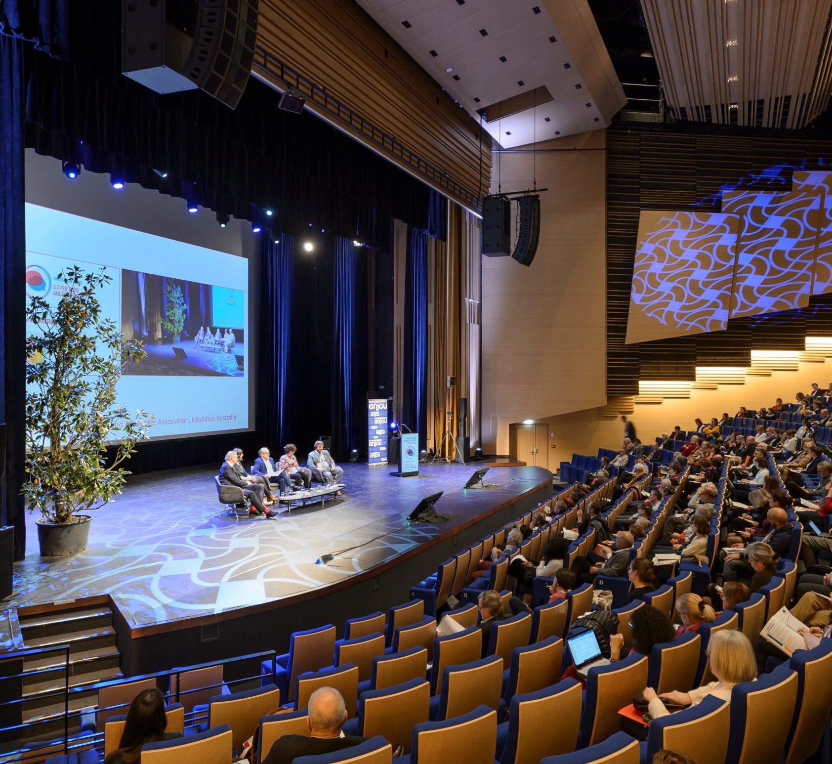 Congrès médiation Angers - crédit photo : Destination Angers